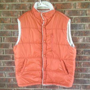 Finish Line Athletics Sherpa Lined Vest Size XL